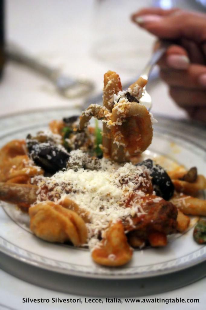 Orecchiette dish