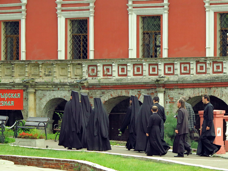 Procession of Clergy - Upper St. Peter's Monastery