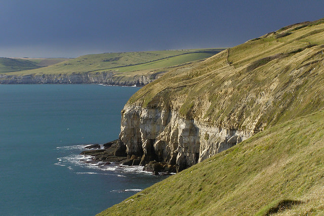 Purbeck Coast by Flickr User Treehouse1977