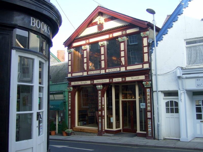 Richard Booth's Bookshop by Ceridwen