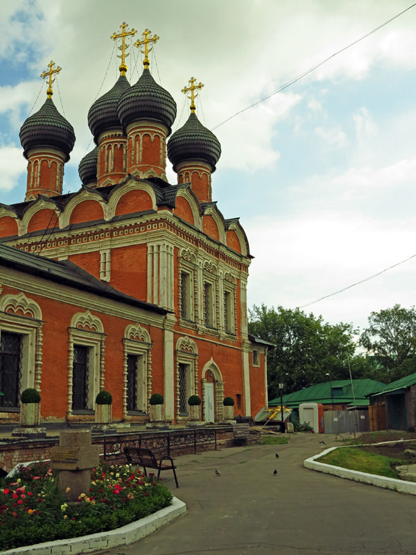 Upper St Peter's Monastery - main church