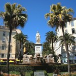 Ajaccio Bonaparte Statue