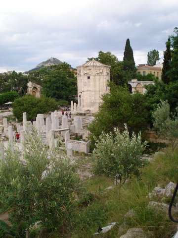 Roman Forum with the Tower of Winds