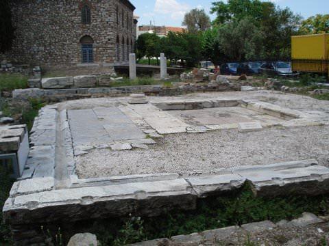Roman latrines at the Forum