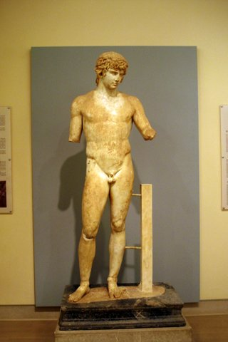 Antinous at the Delph Museum