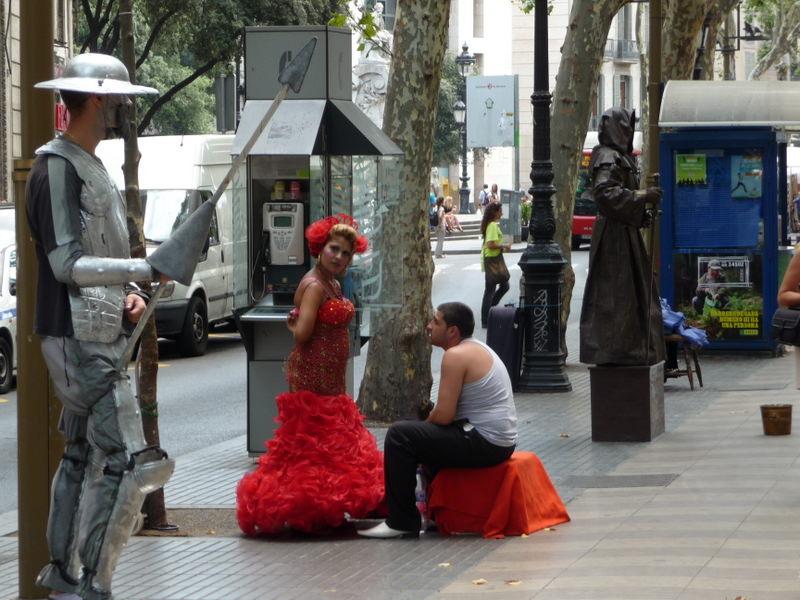 Don Quixote meets the Flamenco Dancer