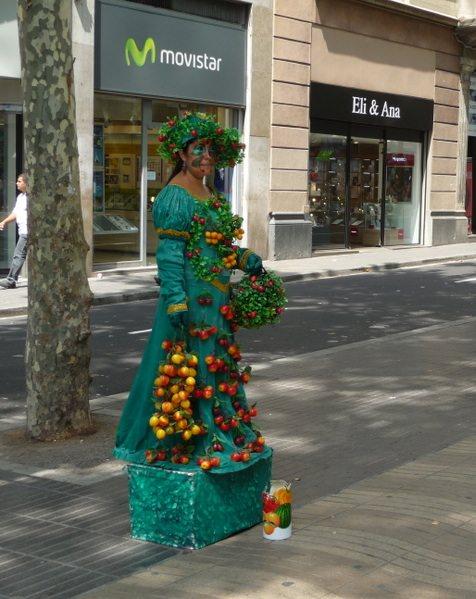 The Fruit Lady