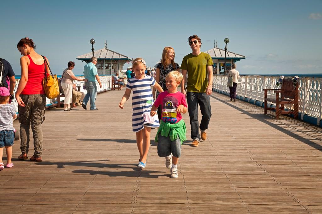 Victorian Pier at Llandudno, Crown Copyright (2013) Visit Wales