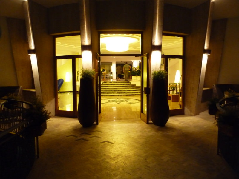 Entrance to the Grand Hotel President Sorrento