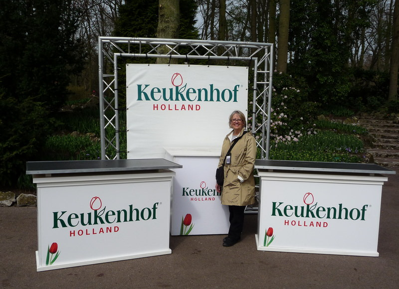 Entrance to the Keukenhof Garden