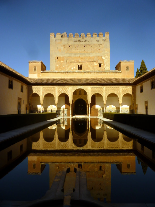 Inside the Alhambra
