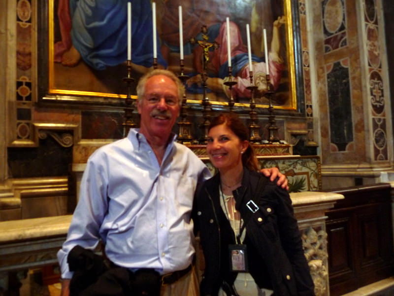 Lara Grom and Bill