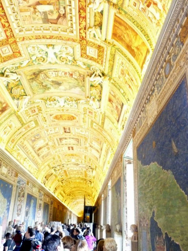 Map Room at the Vatican Museum