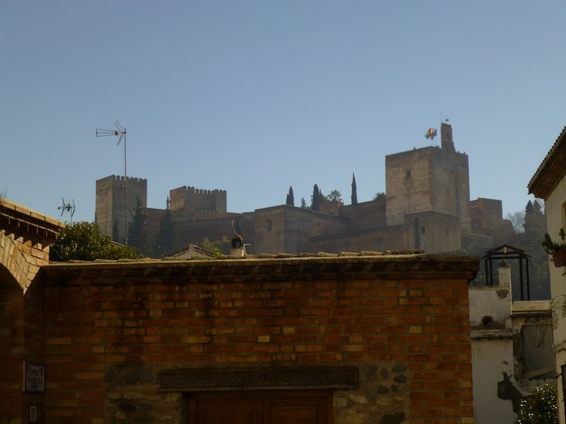 View of Alhambra from the Albayzin