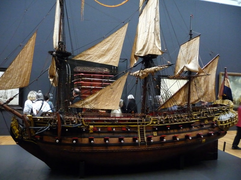 William Rex Model at the Rijksmuseum