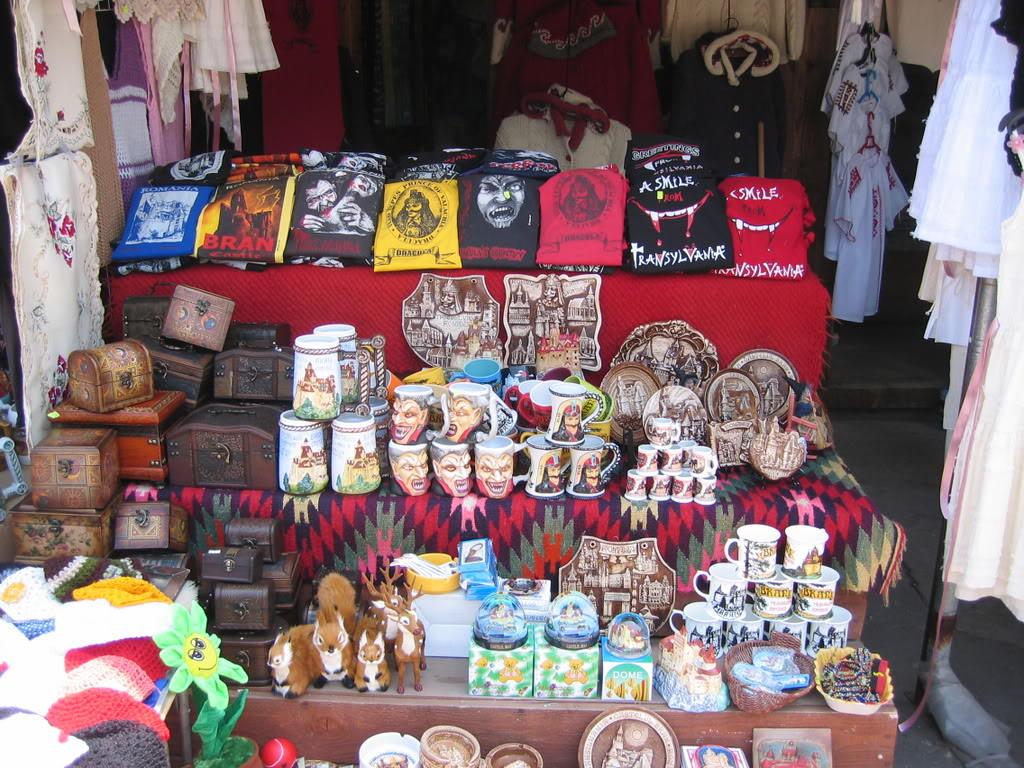 Dracula souvenirs