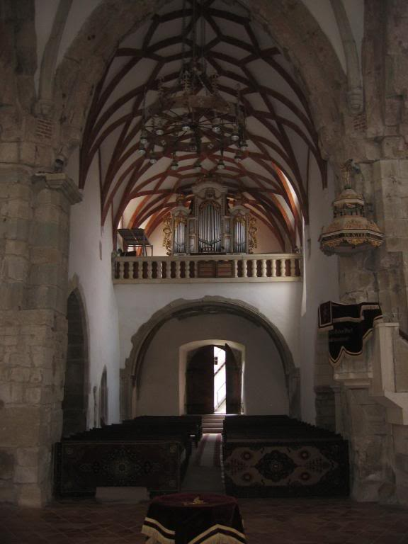Prejmer Church organ