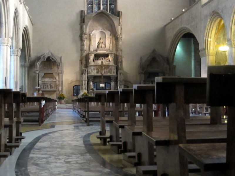Santa Chiara Basilica Interior
