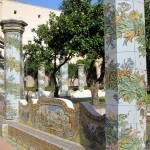 Santa Chiara Cloister's Columns