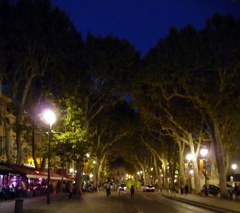 Cours Mirabeau in Aix en Provence