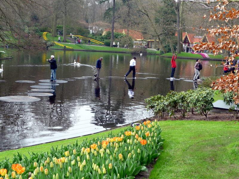 Kukenhof Gardens are great for just having fun