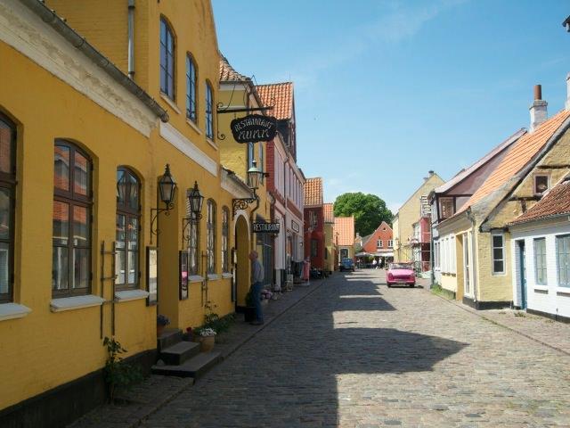Main street view, Aeroskobing