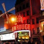 Moulin rouge at midnight