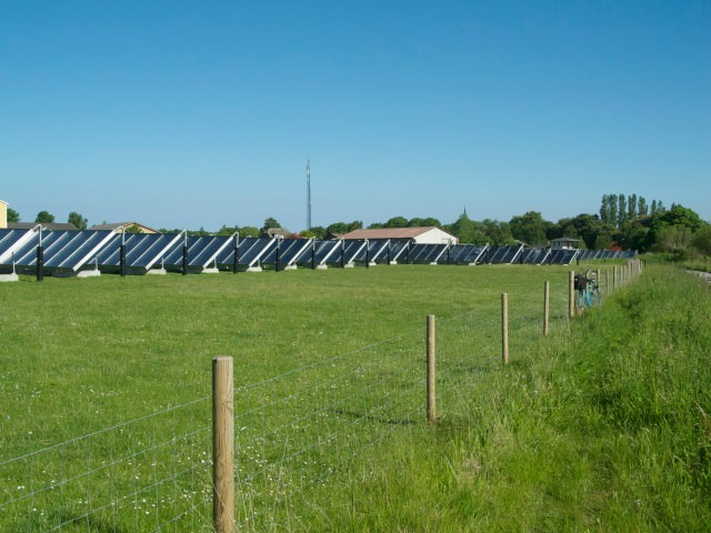 Solar farm, Aero Island
