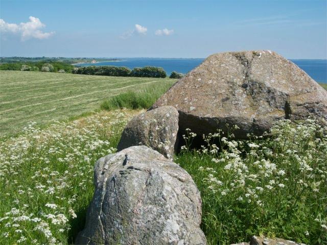 Stones at Neolithic gravesite