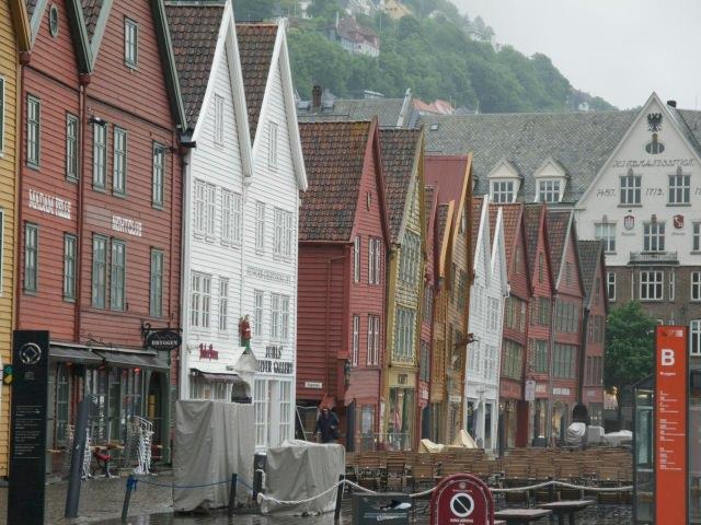 Bryggen, Bergen's historic wharf