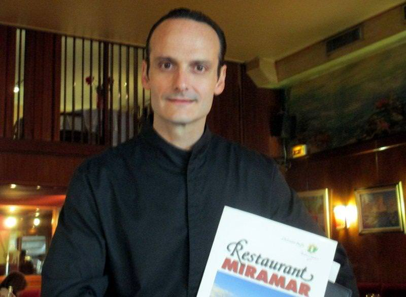 Christian Buffa, chef and proprietor of Le Miramar restaurant, Marseille