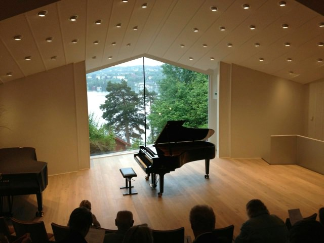 Concert hall at Troldhaugen