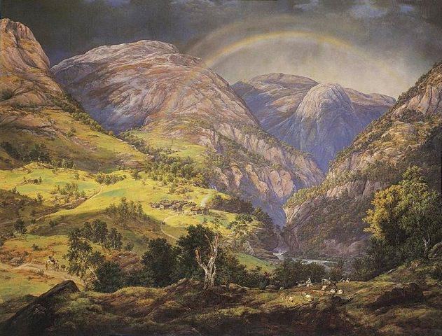 Dahl-1788-1857 Stalheim