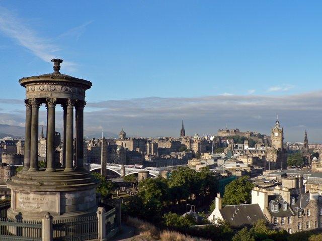 Edinburgh - View from Calton Hill