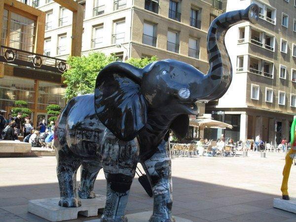 Elephant Art in Marseille