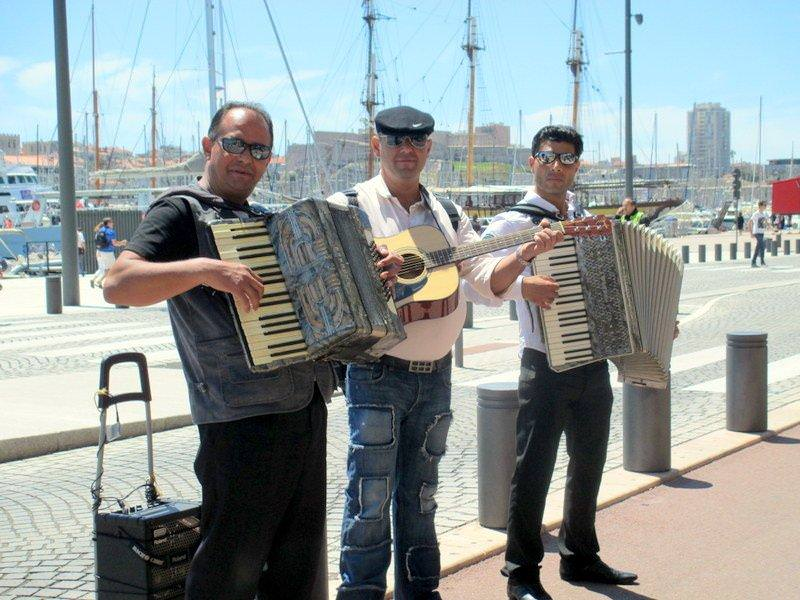 Entertainment at the Old Port
