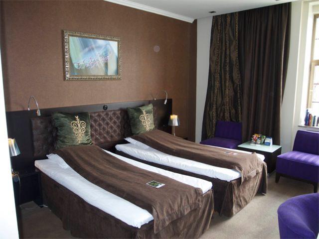 Hotel Havnekontoret  bedroom, Bergen