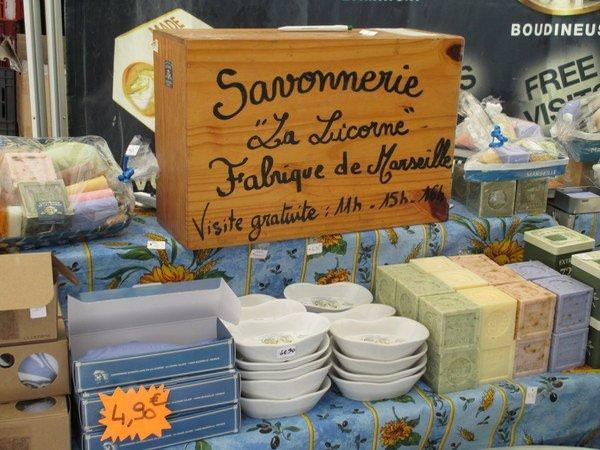 La Licorne factory soaps