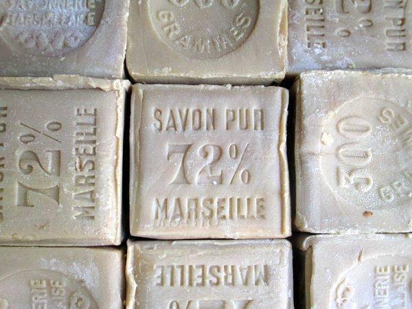 Pure, unscented Savon de Marseille