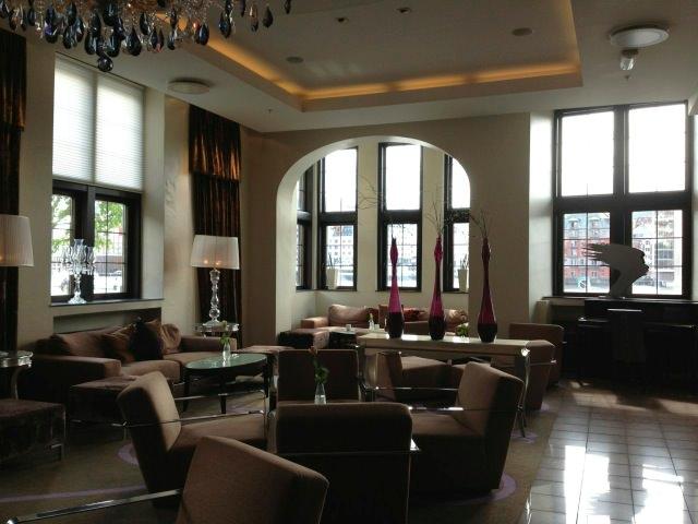 Lobby of Hotel Havnekontoret, Bergen