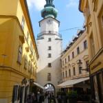 St. Michaels Gate in Bratislava