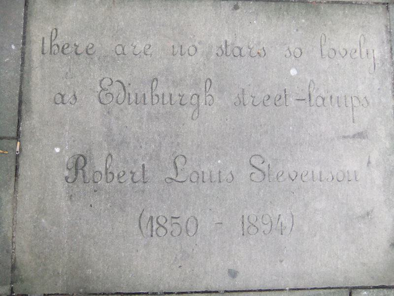 Stevenson Quote Makar's Court