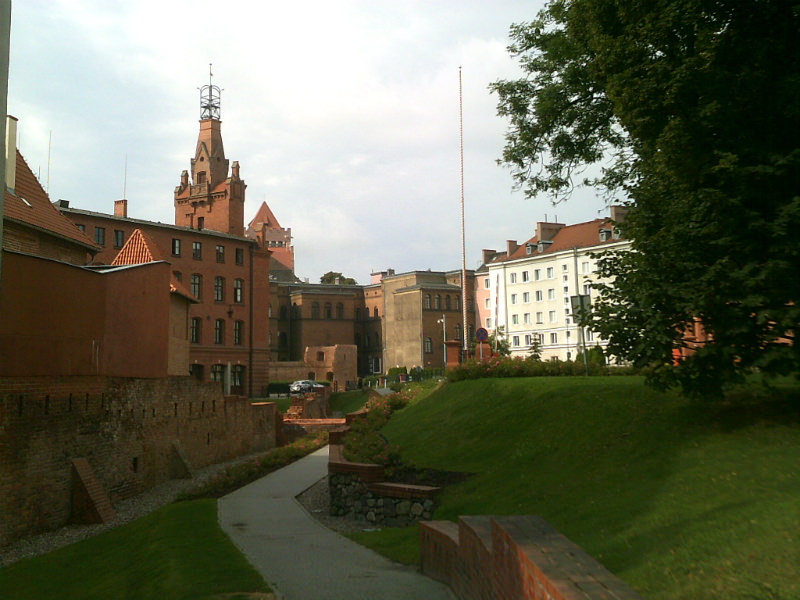 Remnants of old city walls
