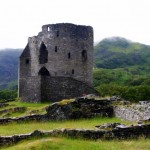 Dolbadarn's Round Tower by Carrie Uffindell