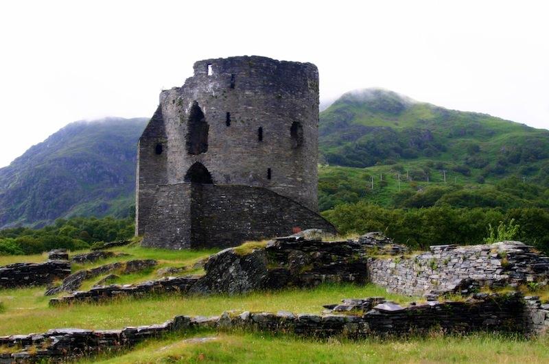 Dolbadarn's Round Tower by Carrie Uffindell