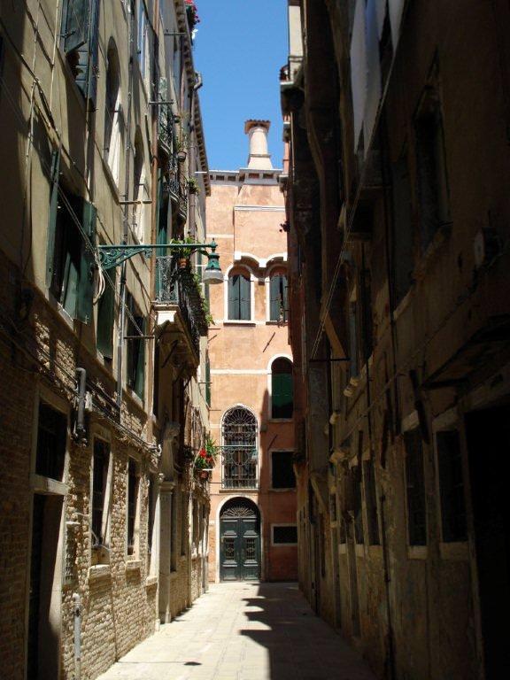 Ghetto street in Venice