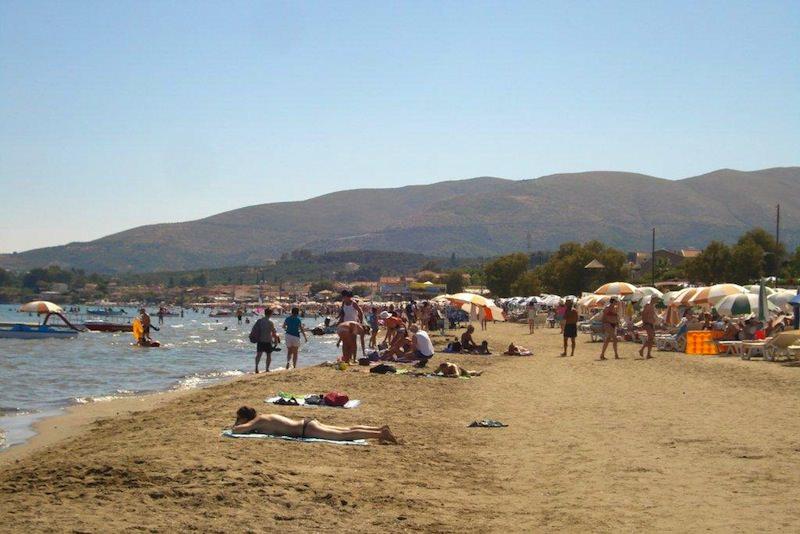 Laganas Beach in Zakynthos