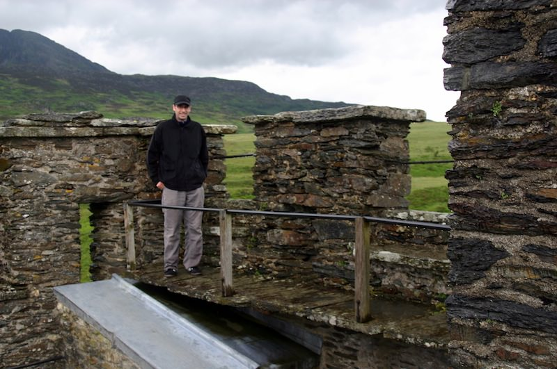 On Dolwyddelan's Battlements by Carrie Uffindell