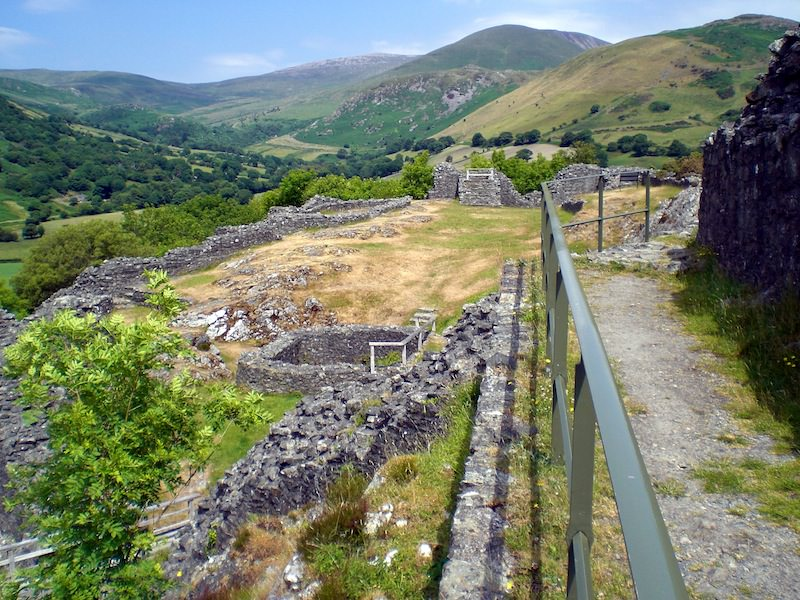 Ruins of Castell y Bere by Carrie Uffindell