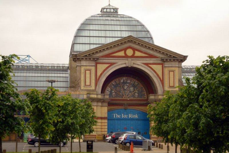 The Ice Rink Entrance